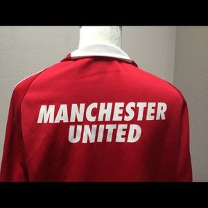 Nike Manchester United Jacket Red Size L Blazer